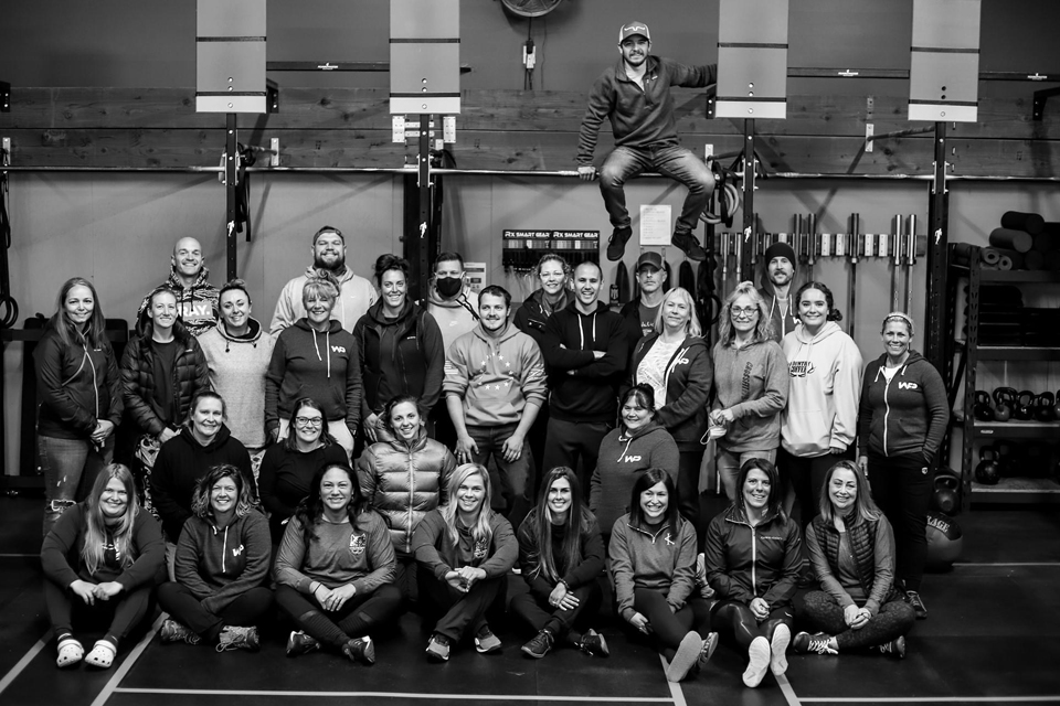 WPF CrossFit Gym Group Photo
